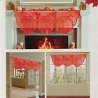 Thanksgiving Pumpkin Leaf Fireplace Tablecloth Table Runner Placemat Cover Set G