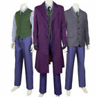 NEWEST Batman The Dark Knight Joker Cosplay Costume Halloween Costumes for Men