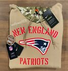 Authentic Nike New England Patriots 2019 Mens NFL Salute to Service Tan Hoodie $129.99 USD on eBay