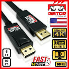 4K Display Port DP to HDMI Cable 60Hz 2160P 25.92Gbps HDR Audio Video Adapter