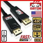 4k Displayport Dp To Hdmi Cable 60hz 2160p 25.92gbps Hdr Audio Video Adapter Pc
