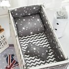 Cotton Soft Baby Bed Crib Bumper Include Pillow Quilt Cover Bed Bumpers Bedding