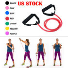 Exercise Fitness Resistance Bands Pilates Workout Gym Yoga Stretch Pull Rope  image