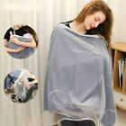 Cotton Nursing Nurse Breastfeeding Privacy Apron Outdoors Breathable Seat Cover