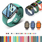 Silicone Sports Strap iWatch 6/5/4/3/2/1 Apple Watch Band Bracelet 38/42/40/44mm