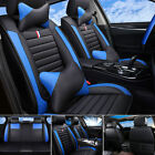 Top PU Leather Car Seat Covers Front & Rear Full Set for 5-Seats Car SUV Truck $149.25 USD on eBay