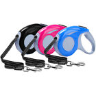 3M/5M Retractable Dog Lead Small Large Dog 110 lbs 16 Ft Control Walking Leads