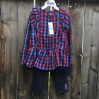 Tommy Hilfiger Toddler Girls 2 Piece Top Pants Set