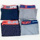 Superdry Grey / Navy Sport Boxer Four Pack