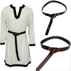 Medieval Belt Cosplay Costume Accessories Viking Vintage Style Leather Waistband