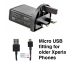 Genuine Sony EP800 Mains Charger & Micro USB Cable for Sony Xperia Mobile Phones