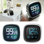 Cy_ BL_ Digital LCD Touch Screen Kitchen Cooking Timer Count-Down Up Clock Alarm