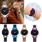 Womens Watch Starry Sky Diamond Dial Women Bracelet Watches Magnetic Stainless  image