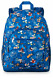 Disney Parks Disney World 2019 Mickey Mouse and Friends Backpack Bag Blue New photo
