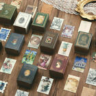 100Pcs/Box Diary Label Gift Collection Lot Of Books Paper Card Boxed Stickers US