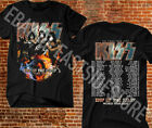 KISS T-shirt End Of The Road World Tour 2020 Leg 5 - 8 Complete Date MusicTee #2 image