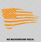 Distressed American Flag Wall Art Decal Sticker Usa Boy Girl Room House Decor V2