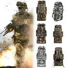92L Waterproof Tactical Bag Camouflage Backpack Outdoor Traveling Camping Hiking