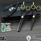 PROFESSIONAL HAIR CUTTING & THINNING SCISSORS SHEARS HAIRDRESSING SET + KIT BAG,