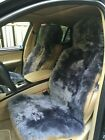 2 Genuine New Zealand Sheepskin Car Seat Covers Lambswool 2 Seat Covers