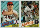2020 TOPPS SERIES 1 SILVER PACK PROMO 1985 TOPPS CHROME SINGLES W/ RC YOU PICK on Ebay