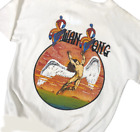 Rare! Vintage Led Zeppelin Swan Song White T-Shirt Men's All Size S-234XL BC131 image