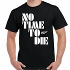 James Bond No Time To Die Logo T-Shirt $22.9 USD on eBay