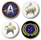 "STAR TREK (Various Designs) - 1"" / 25mm Button Badge - Novelty Kirk Nerds on eBay"