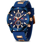 Men's Watch Relojes De Hombre Quartz Chronograph Silicone Band Sport Mini Focus image