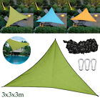 Outdoor Triangle Sun Shade Sail Top Canopy Patio Lawn Cover UV Block Waterproof