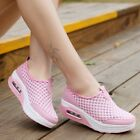 Women's Walking Slip On Sneakers Breathable Trainers Mesh Athletic Running Shoes