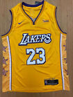 NWT #23 LeBron James Los Angeles Lakers Stitched YELLOW/GOLD Men's Jersey