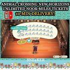 Unlimited Nook Miles | Animal Crossing New Horizons | Ticket x10 | Fast Delivery