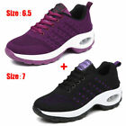 2pcs/set Running Outdoor Breathable Shoes Women Sports Sneakers Shoes US