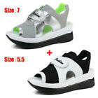 2pcs Women Heel Ankle Strap Sandals Shoes Women Open Toe Platform Heels Sandal