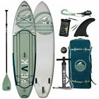 Kyпить PEAK Expedition 10'6 or 11' Inflatable Stand Up Paddle Board Package  на еВаy.соm