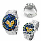 Invicta Men's 30271 NFL Los Angeles Chargers Quartz Chronograph Blue Yellow Dial $240.0 USD on eBay
