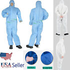 New Reusable Protective Clothing Overalls Suit Splashproof Safty Isolation Set