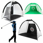 1m Foldable Golf Driving Cage Practice Hitting Net Indoor Outdoor Home