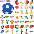 Pet Puppy Funny Chew Play Squeaker Squeaky Soft Plush Sound Cat Dog Toy UK