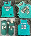 Men's Ja Morant #12 Memphis Grizzlies Green Jersey Basketball Limited Edition on eBay