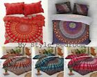 Boho Mandala Duvet Cover King/Queen/Twin Size Indian Quilt Cover Comforter Cover image
