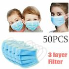1-200pcs Face M ask Face Mouth M asks Respirator Air Pollution Protection US