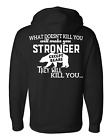 What Doesn't Kill You The Naughty Northern Pullover Hoodie Sweatshirt Outdoor
