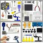 Watch Repair Tool Kit Case Opener Link Remover Spring Bar Tool Set Carrying Case image