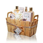 spa gift baskets for women   8 Pc set   Mothers Day Gift Idea   Lavender Vanilla