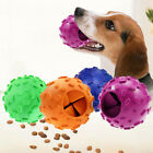 FJ- Pet Dog Puppy Rubber Leakage Food Play Ball Dispenser Molar Interactive Chew
