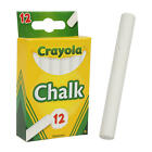 Brand New Crayola White Chalk 1 box with 12 sticks