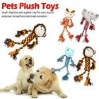 Pet Dog Puppy Squeaky Chew Plush Toy T8V1