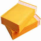 GOLD PADDED BUBBLE ENVELOPES BAGS POSTAL WRAP EXCELLENT QUALITY  110x160+40mm